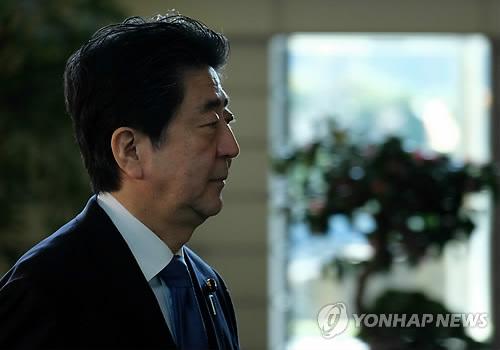 아베 총리 [AFP=연합뉴스 자료사진]