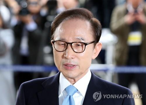 李元大統領=14日、ソウル(聯合ニュース)