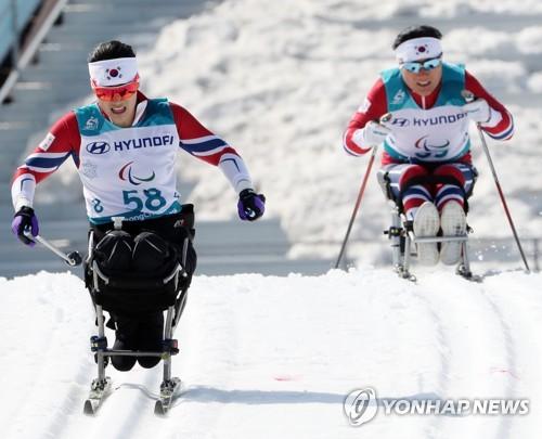 S. Korean para-athletes compete at Paralympics