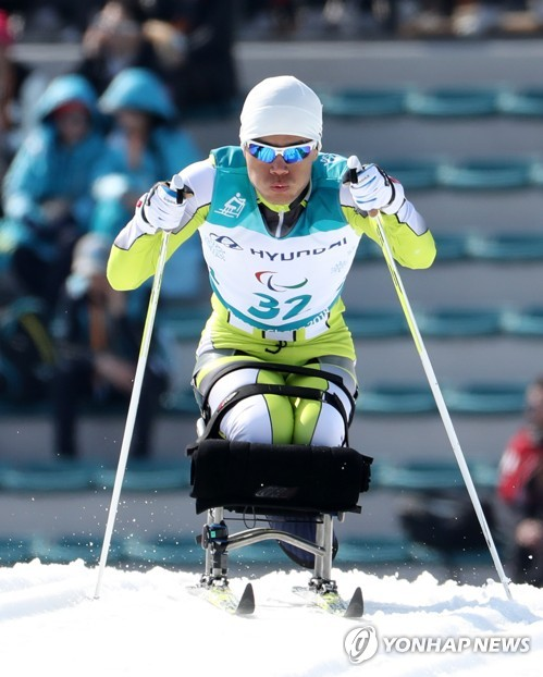 N. Korean para-athlete competes at Paralympics