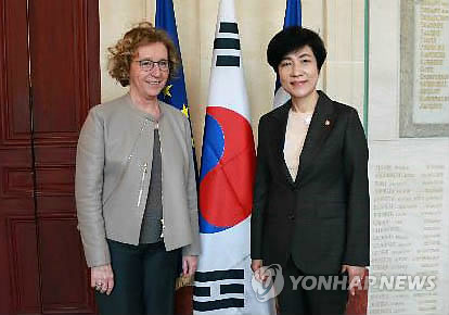 Labor ministers of S. Korea, France meet