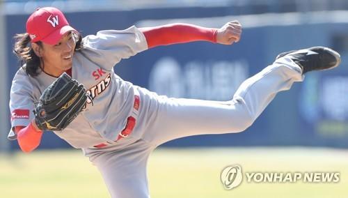 시범경기 호투 김광현 'Again 2008'