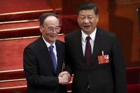 시진핑, 국가주석 만장일치 재선출…부주석엔 왕치산