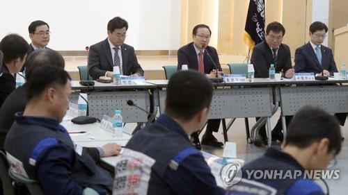 한국GM대책 특별위 창원현장 간담회