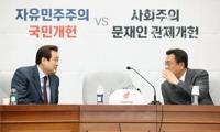 한국당 투톱 선거 앞두고 계파 세 대결 조짐