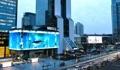 超大LED显示屏亮相首尔