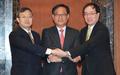 韓中日FTA交渉会合 約1年ぶり再開