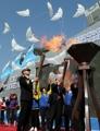 黄海の平和願う記念式
