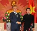 文在寅会见越南国会主席