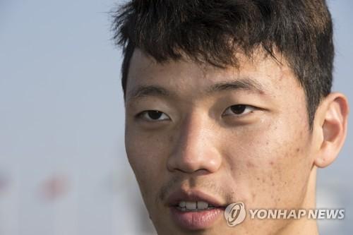 한국 축구대표팀의 핵심 공격수 황희찬 [연합뉴스 자료 사진]