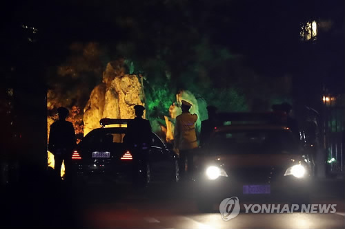 """블룸버그 """"김정은, 베이징 깜짝 방문"""""""