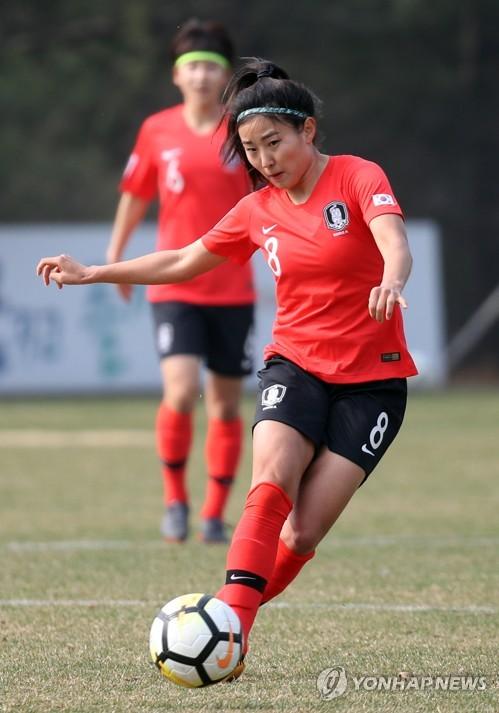 여자축구대표팀 주장 조소현