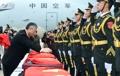 Corea del Sur devuelve los restos de 20 chinos caídos en la guerra