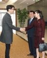 韩朝代表再相聚