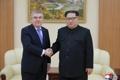 Bach avec le dirigeant nord-coréen