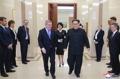 El líder norcoreano y el jefe del COI