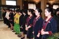 La 'troupe' artística surcoreana llega a Pyongyang