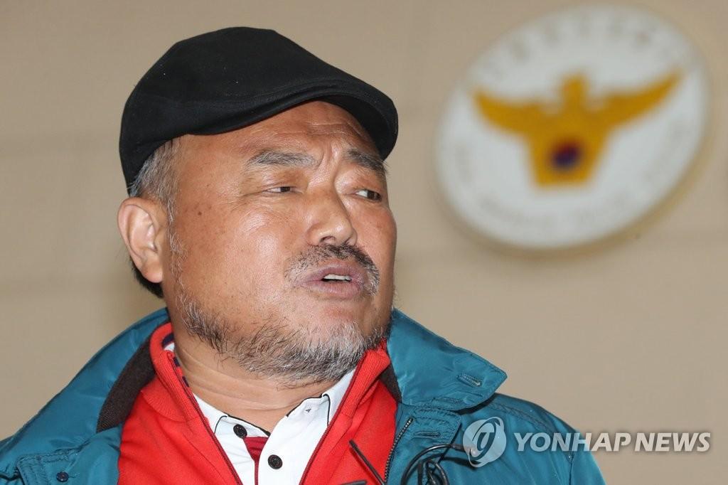 대한가수협회 김흥국 회장 [연합뉴스 자료사진]