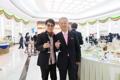 El cantante surcoreano y el director de la orquesta norcoreana