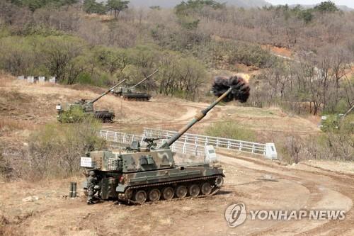 K-9 자주포 [연합뉴스 자료사진]