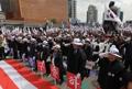 Manifestación para la liberación de la expresidenta