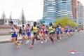 朝鲜举行国际马拉松赛