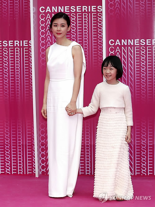 Actress Lee Bo-young in Cannes