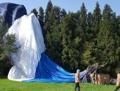 済州島で熱気球墜落 1人死亡・12人負傷