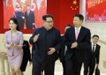 Kim Jong-un avec Song Tao