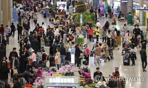 5월 외국인 관광객 26.6% 증가…한반도정세 안정 등 영향