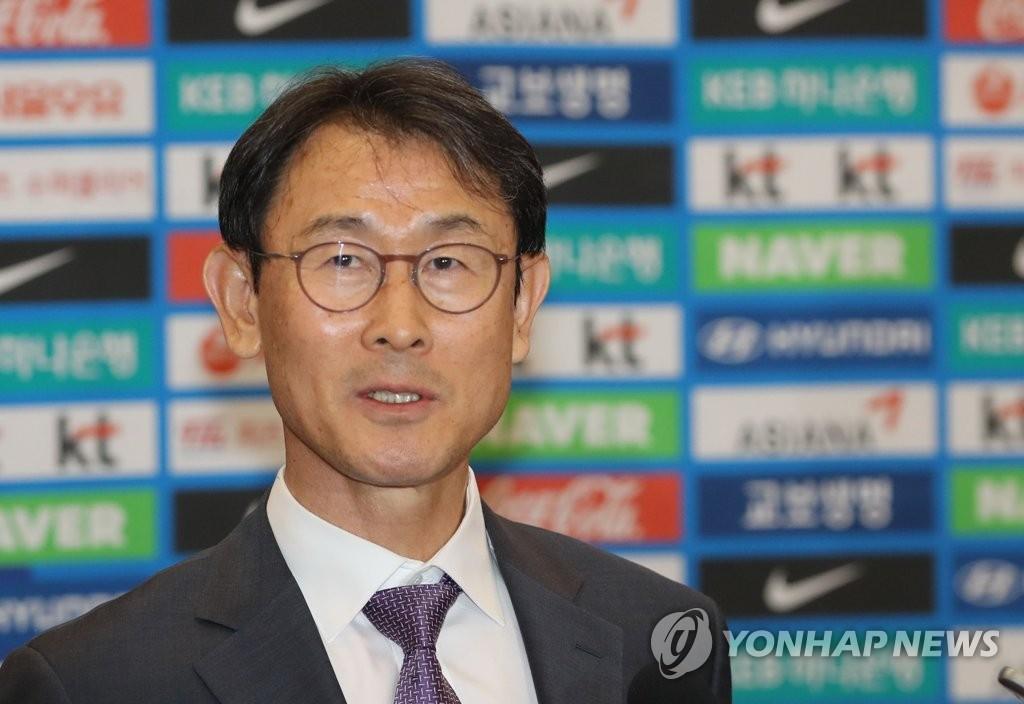 윤덕여 여자축구 대표팀 감독 [연합뉴스 자료 사진]