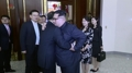 Kim Jong-un et Song Tao