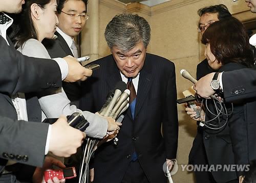 '성희롱 논란'에 고개숙인 日재무성 차관