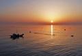 Lever de soleil sur la côte ouest