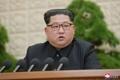 El líder norcoreano en una reunión del partido gobernante