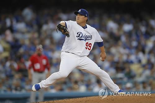 """LA타임스 """"류현진, 다저스가 거둔 9승 가운데 3승 책임져"""""""