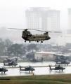 韓米軍事演習始まる