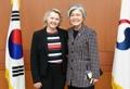 La canciller Kang se reúne con una alta diplomática de EE. UU.