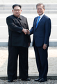 Encuentro intercoreano histórico