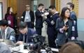 Journalistes des deux Corées