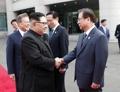 Kim Jong-un et Suh Hoon