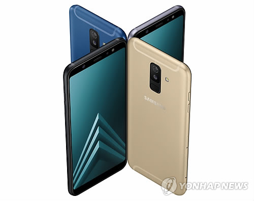 Samsung Electronics Co. a annoncé le mercredi 2 mai 2018 le lancement des smartphones de gamme moyenne Galaxy A6 et A6 Plus sur le marché mondial ce mois-ci. © Samsung Electronics Co.