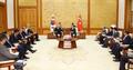 韩土耳其领导人会谈