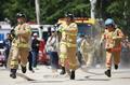 消防活動の技術競う
