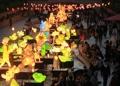 清渓川彩る灯籠