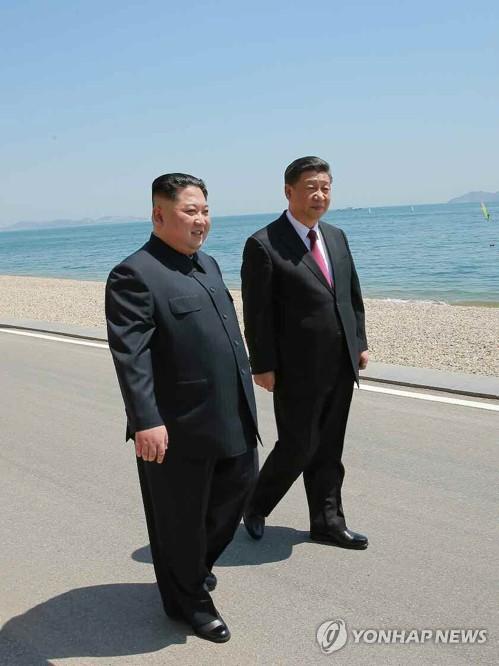 """日언론 """"시진핑 제안에 김정은이 트럼프에 한미훈련중단 요구"""""""