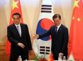 中国首相と会談