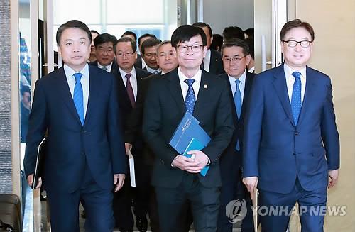 지난 5월 10일 열린 공정거래위원장과 10대 그룹 정책간담회