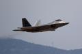 美军F-22战机参加韩美联演