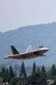 Los cazas de sigilo estadounidenses F-22